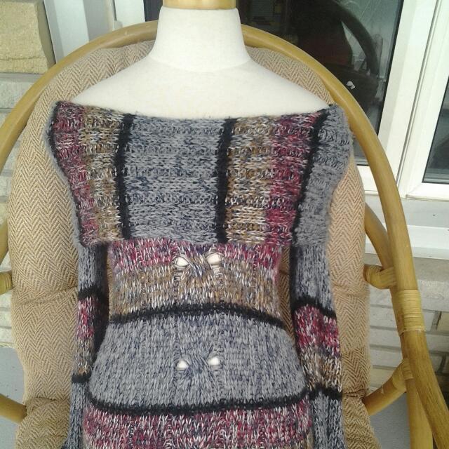 Knit Long Sweater Dress