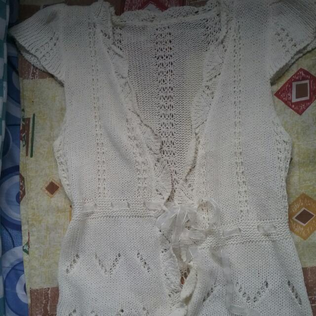 KNITTED CARDIGAN/COVER UP