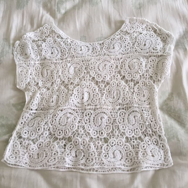 Lace Outer White