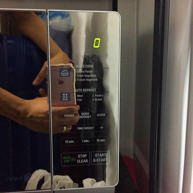 LG Microwave #dirty30