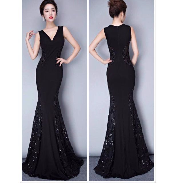 LONG GOWN, Preloved Women\'s Fashion, Clothes on Carousell