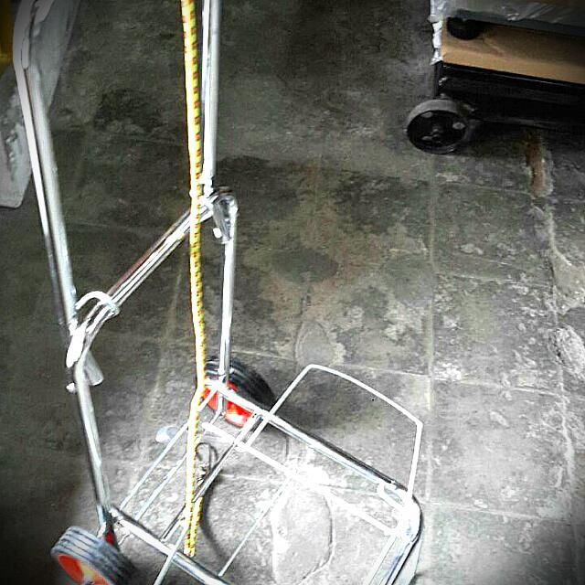 Trolley/Troli/Lori koper stainless lipat