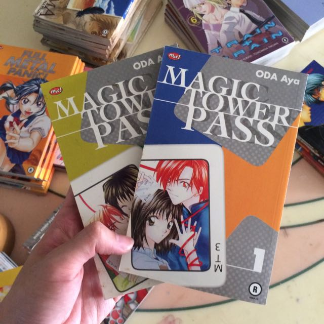 Magic Tower Pass By Oda Ya