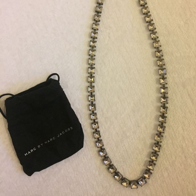 Marc Jacobs Coloured Jewel Necklace