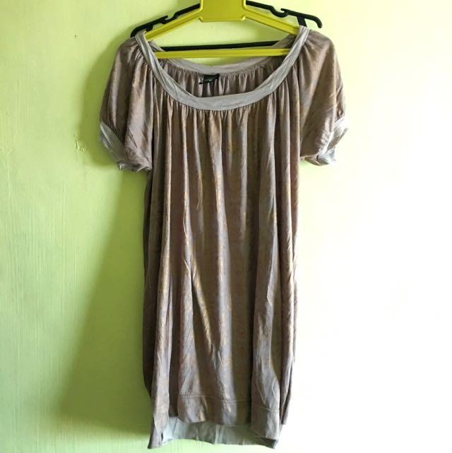 Mauve Cotton Dress