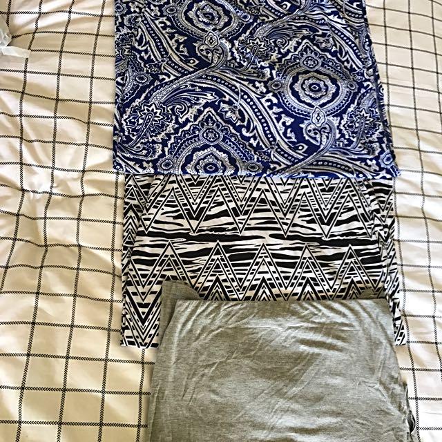 Maxi Skirt Trio Size 8-12