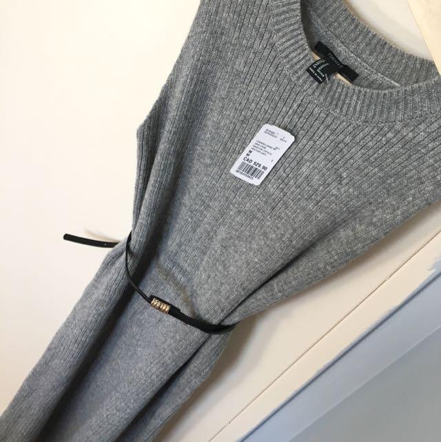 NEW Forever 21 Midi Sweater Dress