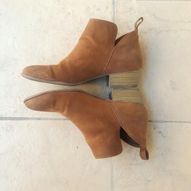 9a780c7725726 PAYLESS Suede Boots (Lower East Side)