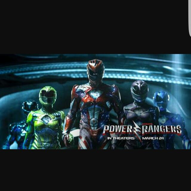 Power Rangers Movie Ticket❤