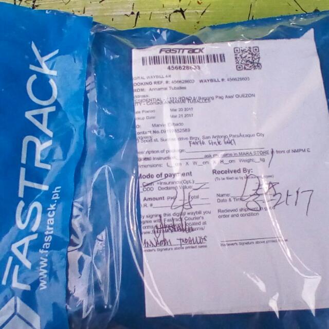 Proof Of Delivery Salamat Sa Tiwala
