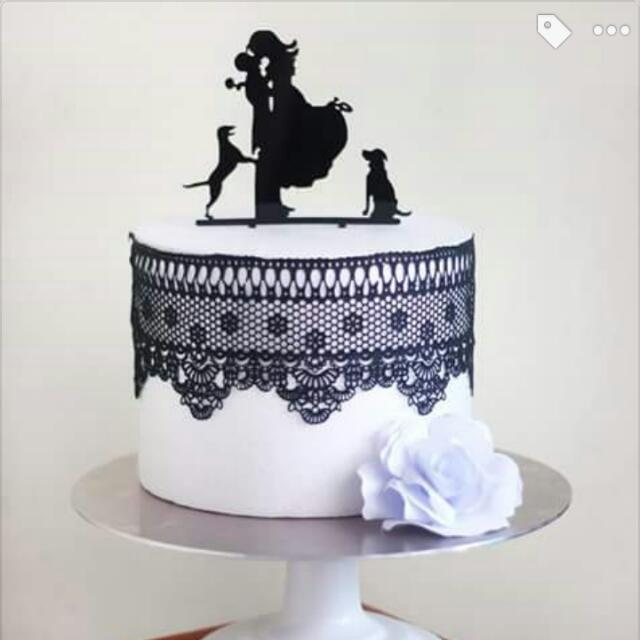 Reusable Cake Topper