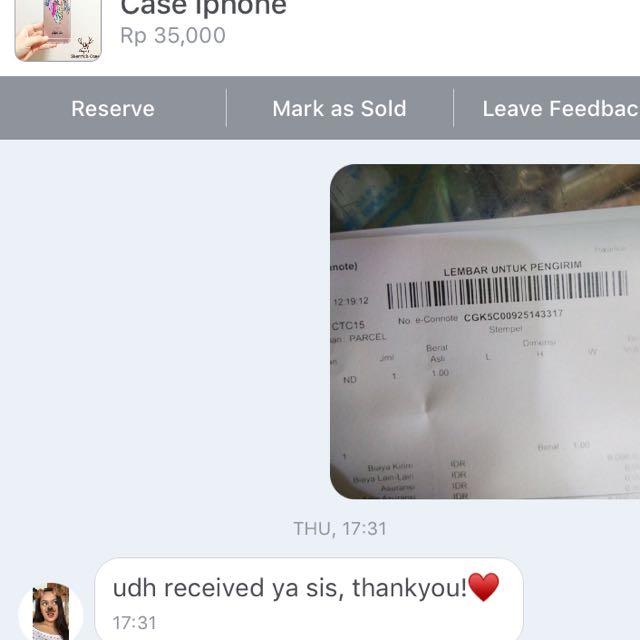 Satisfied customer ❤️