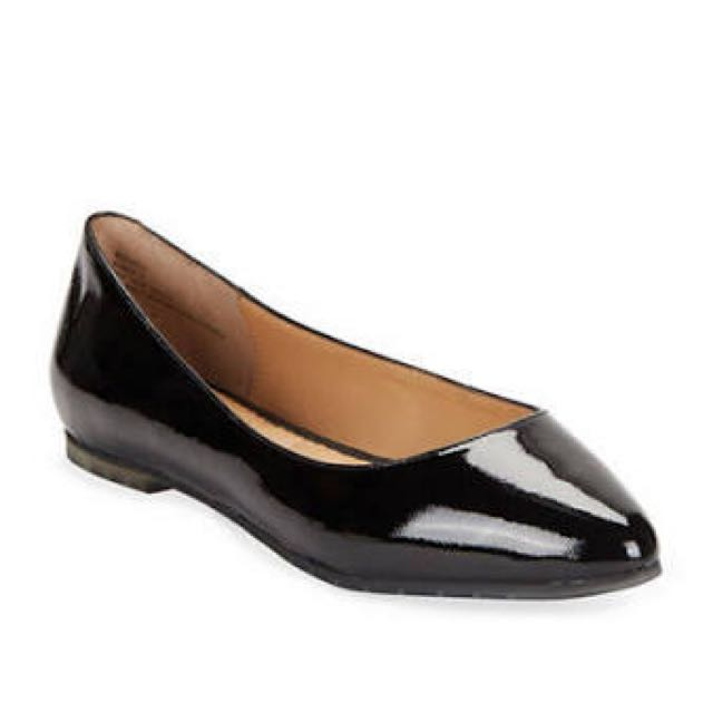 Size 6 Black Country Road Flats