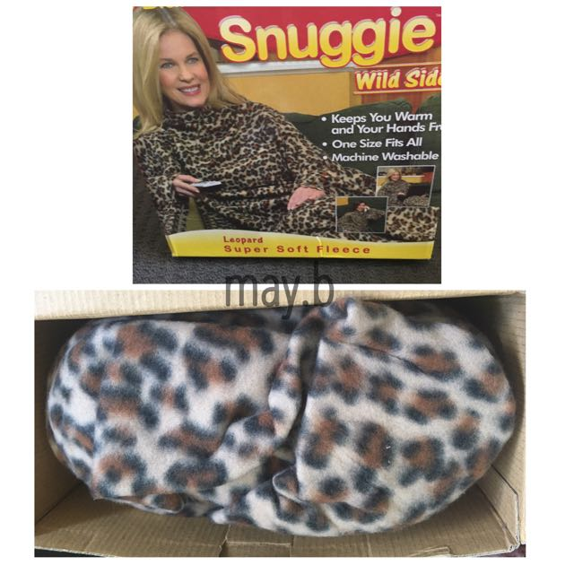 Snuggie In Leopard Print