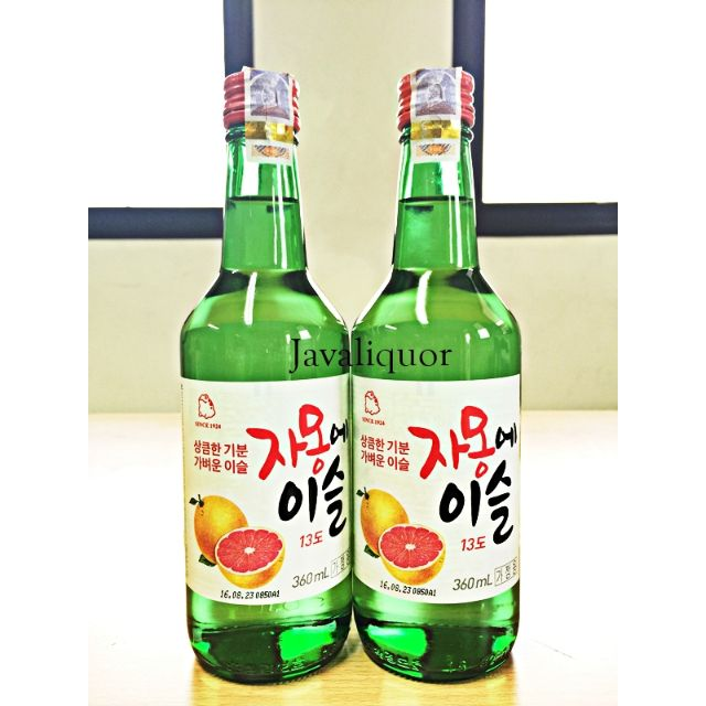 Soju Grapefruit Jeruk Chamisul by Jinro ORIGINAL RESMI 100%