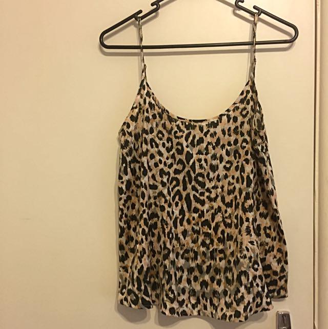 Sportsgirl Leopard Top
