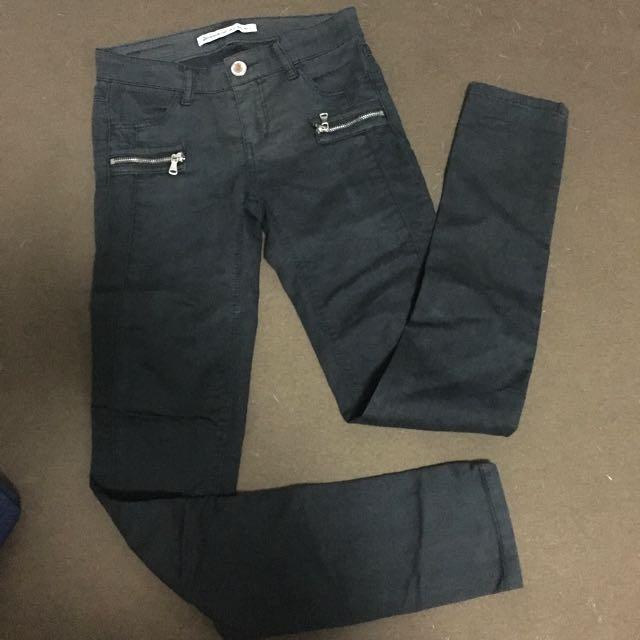 Stradivarius Black Skinny Jeans
