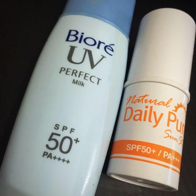 Sunscreen Bundle (Biore & Secret Key)
