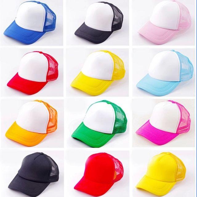 Suplayer topi trucker kids anak polos Terbaru 8c20b3162c