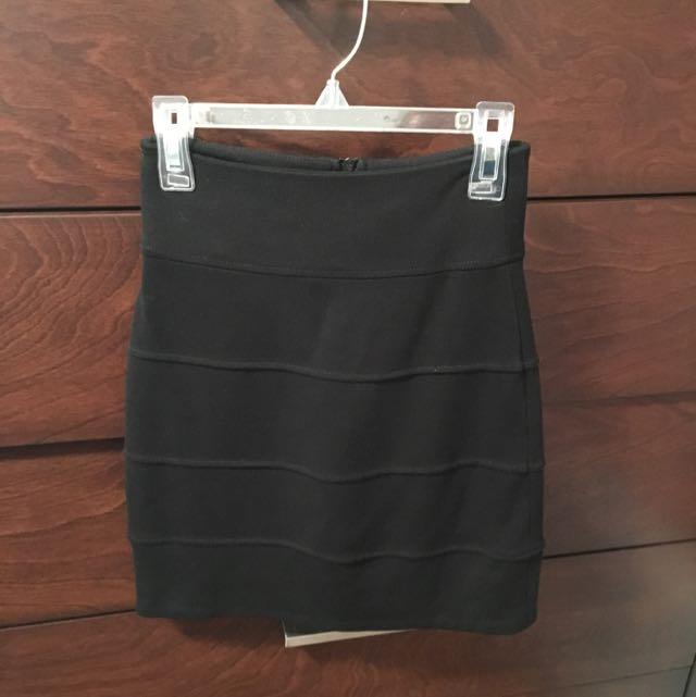 Talula Black Mini Skirt