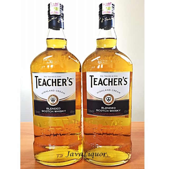 Teacher's Highland Cream Scotch Whisky 1L ORIGINAL 100%