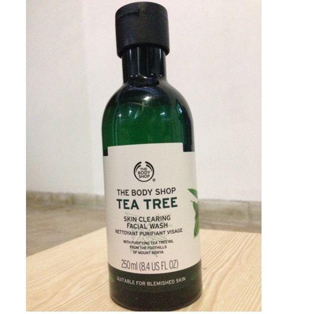 The Body Shop - Tea Tree Facial Wash
