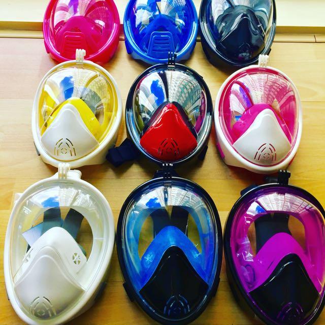 Thenice Full Face Snorkel Mask Version 2