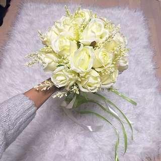 婚後物資1-絲花花球 A款 Silk Flower Bouquet