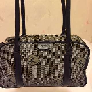Agnes b Golf Bag 24x14x9cm