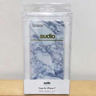 iPhone 7 Sudio White Marble Case