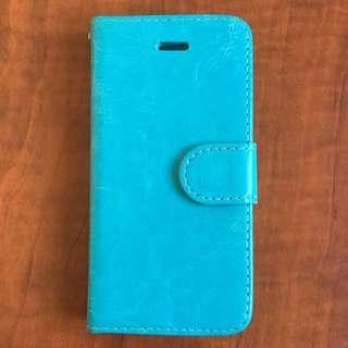 Blue iPhone 5c Wallet/case