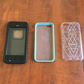 iPhone 5c Lifeproof Case + Others