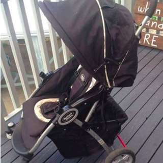 Mothers choice pram.. tear in bottom basket, otherwise great