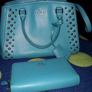 On Hand: Coach Bag With Wallet
