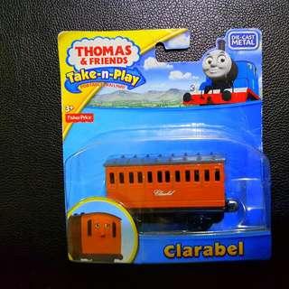 Fisher-Price Thomas & Friends Take-n-Play 合金磁石火車頭系列 Clarabel