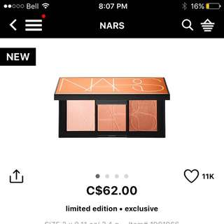 NARS- Highlighting Pallet