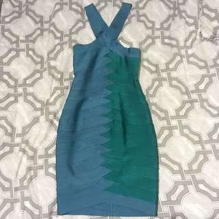 Celeb boutique Two Tone Bandage Dress Size S