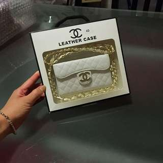 Chanel Phone Case Wallet For iPhone 4