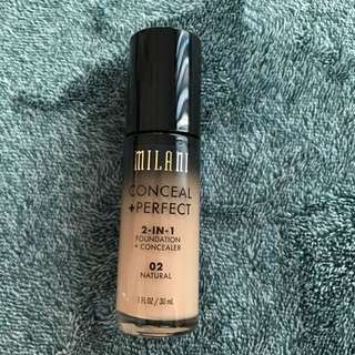 Milani Foundation Color 02 Natural