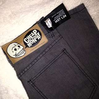 NWT Cheap Monday High Waisted Skinny Jeans