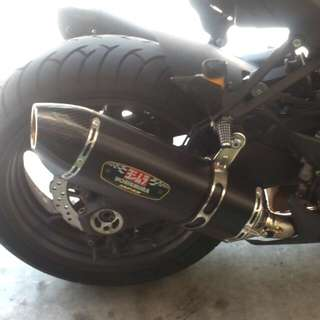 Yoshimura R77j End can X2 for Kawa Z1000/SX