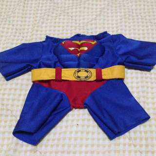 Superman Costume For Small Dogs