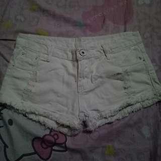 Short (Color : White )