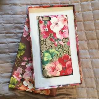 Reduce Item! Case Iphone6/6s Gucci Flower Blossom
