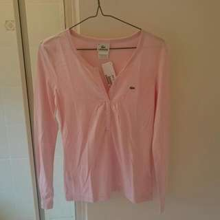 Lacoste Pink Tee