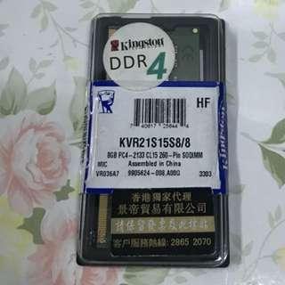 KINGSTON DDR4 8GB RAM