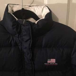 Ralph Lauren Polo Puffer Jacket/coat - Small Can Fit Women's Medium