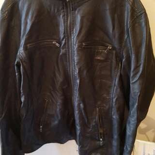 Mens XL Leather jacket