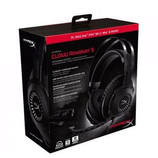 Kingston HyperX Cloud Revolver S  with PnP Virtual Dolby Surround 7.1 Audio Headset
