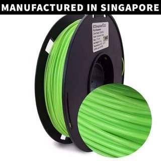 ECOmaylene 3D - PLA 3D Printer Filament | Caribbean Green - 500g